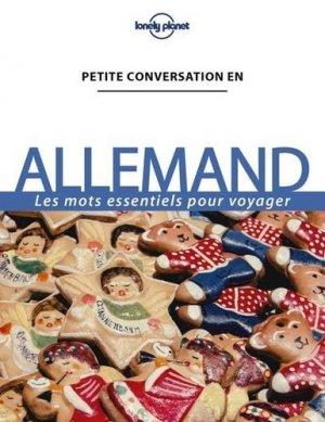 Petite conversation en allemand - Lonely Planet - 9782816179132 -