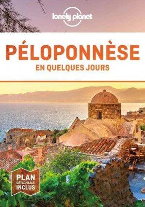Péloponnèse en quelques jours - Lonely Planet - 9782816185881 -