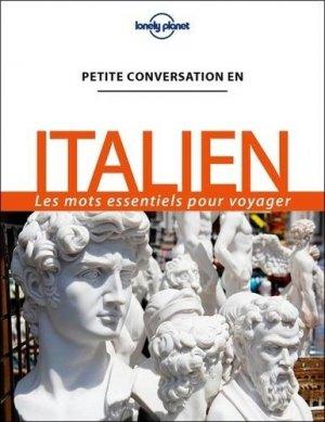 Petite conversation en italien - Lonely Planet - 9782816186215 -