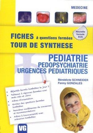 Pédiatrie - Pédopsychiatrie - Urgences pédiatriques - vernazobres grego - 9782818307922 -