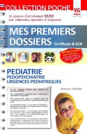 Pédiatrie Pédopsychiatrie Urgences pédiatriques - vernazobres grego - 9782818309322 -
