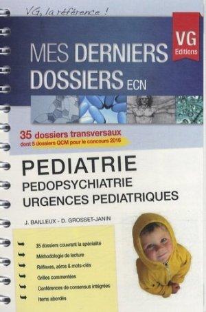 Pédiatrie - vernazobres grego - 9782818310656 -