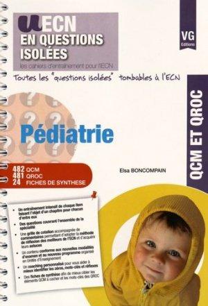 Pédiatrie - vernazobres grego - 9782818313558 -