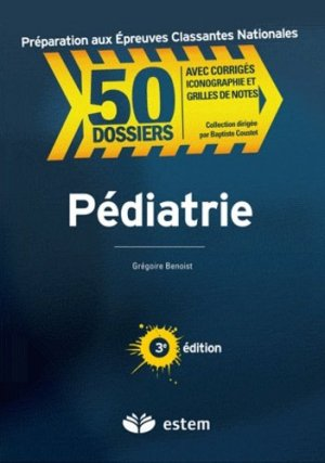 Pédiatrie - estem - 9782843714566 -
