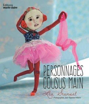 Personnages cousus main - massin / marie claire (éditions) - 9782848317991 -