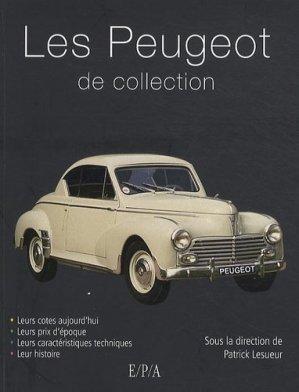 Peugeot de collection - epa - 9782851207357 -