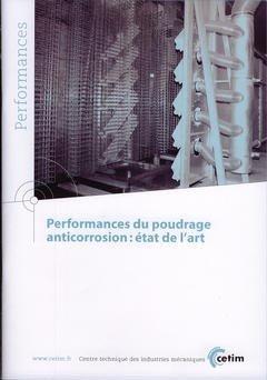 Performances du poudrage anticorrosion - cetim - 9782854007763 -