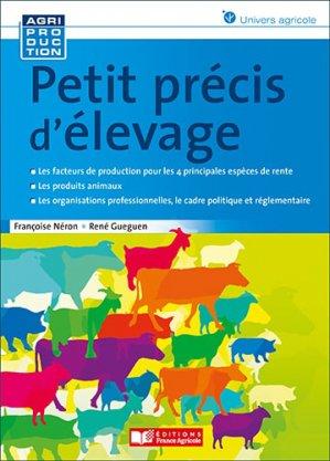 Petit précis d'élevage - france agricole - 9782855575438 -