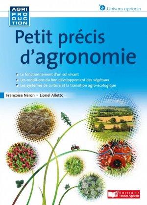Petit précis d'agronomie - FRANCE AGRICOLE - 9782855576596 -