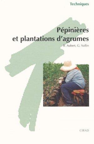 Pépinières et plantations d'agrumes - cirad / gtz / isnc / cta - 9782876142695 -