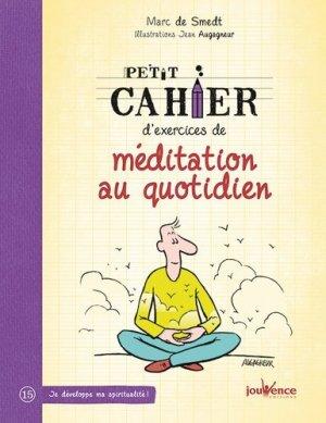 Petit cahier d'exercices de méditation au quotidien - jouvence - 9782889115525 -