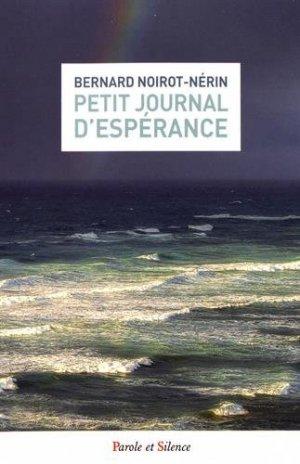 Petit journal d'espérance - parole et silence - 9782889186921 -