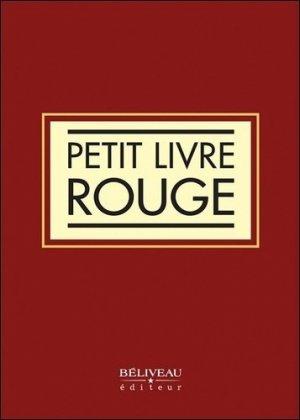Petit livre rouge - beliveau - 9782890929463 -