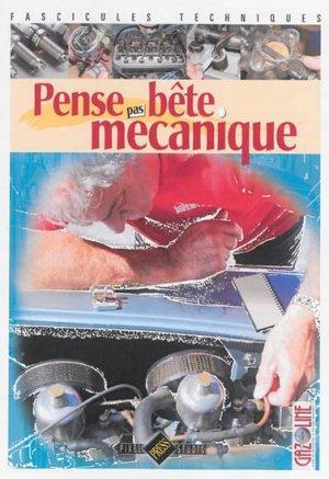 Pense pas bête Mécanique - hb publications - 9782917038307 -