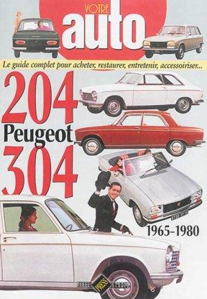 Peugeot 204-304 1965-1980 - hb publications - 9782917038444 -
