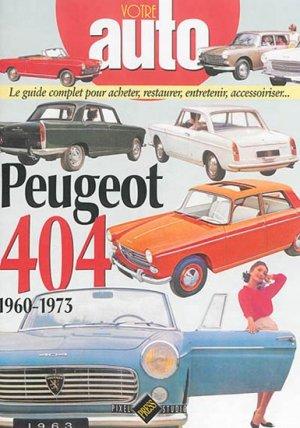 PEUGEOT 404 (1960-1973) - hb publications - 9782917038468 -