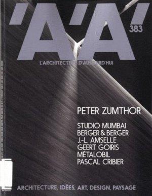 Peter Zumthor - archipress - 9782918832102 -
