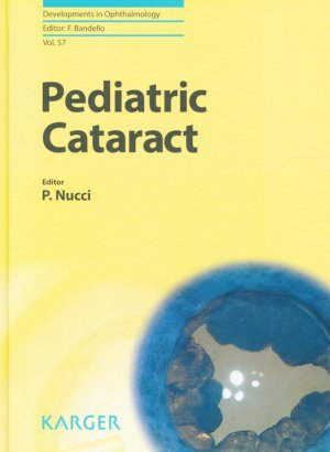 Pediatric Cataract - karger  - 9783318058192 -
