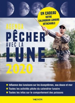 Pêcher avec la lune 2020 - vagnon - 9791027103287