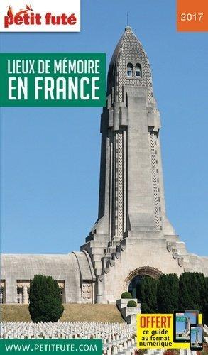 Petit Futé Lieux de mémoire en France - nouvelles éditions de l'université petit futé - 9791033101697 -