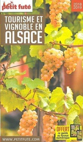 Petit Futé Tourisme et vignoble en Alsace - nouvelles editions de l'universite petit futé - 9791033194354 -