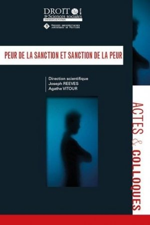 Peur de la sanction et sanction de la peur - Presses universitaires juridiques de Poitiers - 9791090426917 -