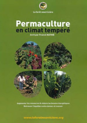 Permaculture en climat tempéré - la foret nourriciere - 9791094142226 -