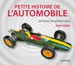 Petite histoire de l'automobile - Naturalia Publications - 9791094583425 -