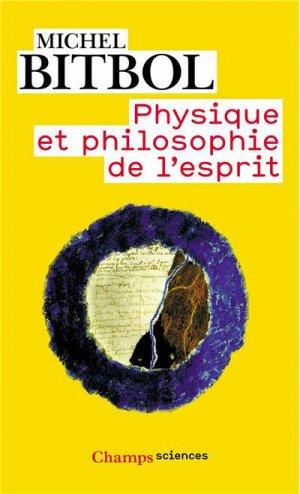 Physique et physiologie de l'esprit - flammarion - 9782080801463 -