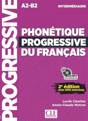 Phonétique progressive du français intermédiaire - Nathan - 9782090382136 -