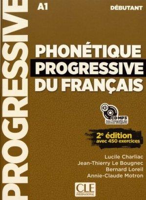 Phonétique progressive du français débutant A1 - Nathan - 9782090384550 -