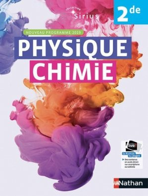 Physique Chimie 2de Sirius - Nathan - 9782091729060 -