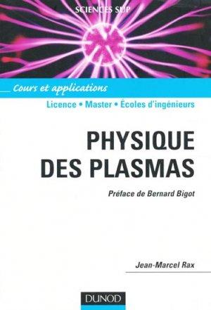 Physique des plasmas - dunod - 9782100072507 -