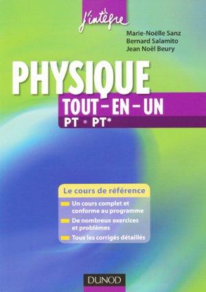 Physique Tout-en-un PT PT* - dunod - 9782100530571 -