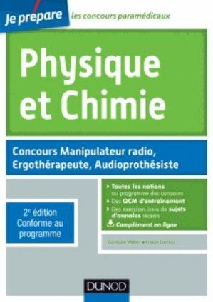 Physique et Chimie - dunod - 9782100705061 -