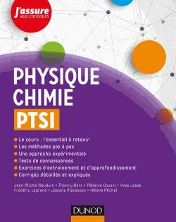 Physique-Chimie PTSI - dunod - 9782100762194 -