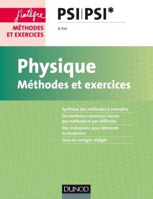Physique - Méthodes et exercices - PSI-dunod-9782100765553