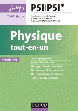 Physique tout-en-un PSI-PSI*-dunod-9782100769797