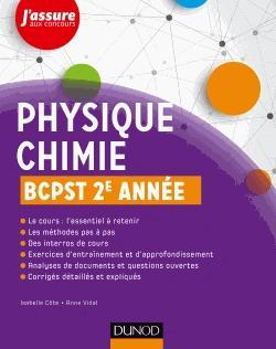 Physique-Chimie BCPST 2e année - dunod - 9782100769810 -