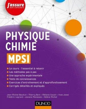 Physique-Chimie MPSI - dunod - 9782100772988 -