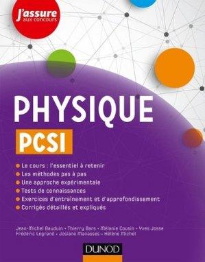 Physique PCSI - dunod - 9782100772995 -