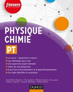 Physique-Chimie PT - dunod - 9782100775484 -