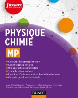 Physique-Chimie MP - dunod - 9782100775576 -