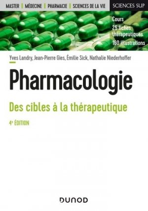 Pharmacologie - dunod - 9782100793549