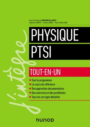 Physique PTSI - dunod - 9782100796113