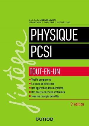 Physique PCSI - Tout-en-un - dunod - 9782100800209 -