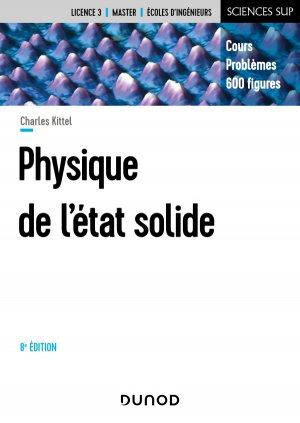 Physique de l'état solide - dunod - 9782100806645 -