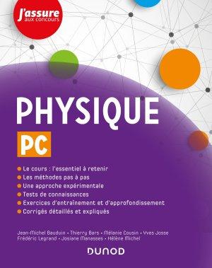 Physique PC - dunod - 9782100807291