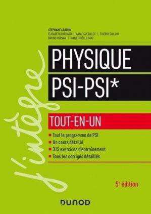Physique tout-en-un PSI-PSI* - dunod - 9782100809967 -
