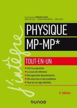 Physique tout-en-un MP-MP* - 4e éd. - dunod - 9782100811847 -